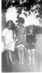 Who is the cutie on the left with Dorothy Holcher(61) and Karen Stenback?  (Answer on Quiz page answers)