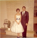 Karen Stenback, Kurt Harstad  Winter Formal 1960