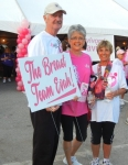 Susan B. Komen 'Race for the Cure', SW Florida  Team:  'The Breast Team Evah!'  Team Members:  Tom Fallon, Margie Da