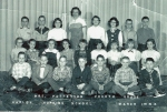 Harley Hopkins, Grade Four, Mrs. Patterson:  Top row:   ?, ?, Mary Wigginton, Mrs. Patterson, ?, ?, ?, Mike O'Connell
