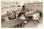 Burwell School, Mrs. Envil's Kindergarten class